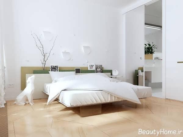 دیزاین دکوراسیون اتاق خواب مینیمال