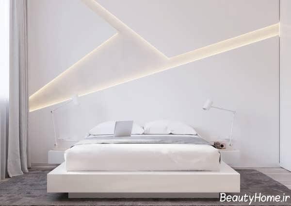 دکوراسیون داخلی اتاق خواب با سبک مینیمال