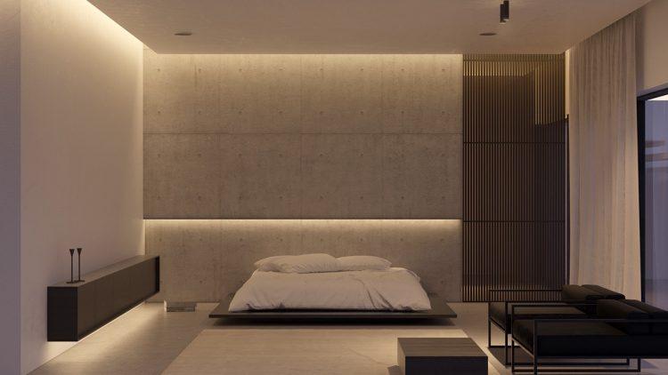 دکوراسیون اتاق خواب مینیمال