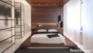 اتاق خواب با طراحی داخلی مدرن و مینیمال