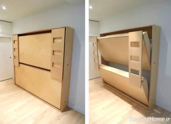 مدل های شیک و متفاوت تخت خواب تاشو
