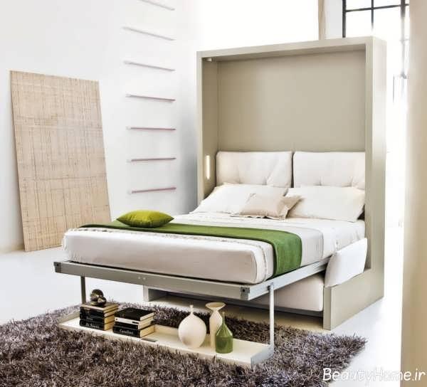 مدل تخت خواب تاشو دو نفره
