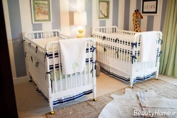 اتقا نوزاد دوقلو با طراحی شیک و متفاوت