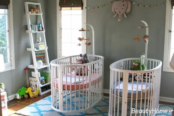 دیزاین دکوراسیون داخلی اتاق نوزاد