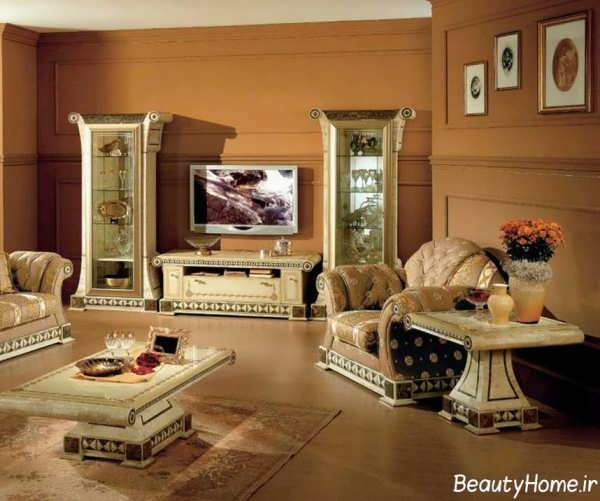 انواع طرح های شیک و متفاوت میز تلویزیون