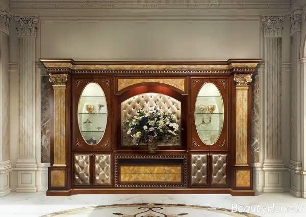مدل های میز تلویزیون کلاسیک و سلطنتی زیبا و جدید