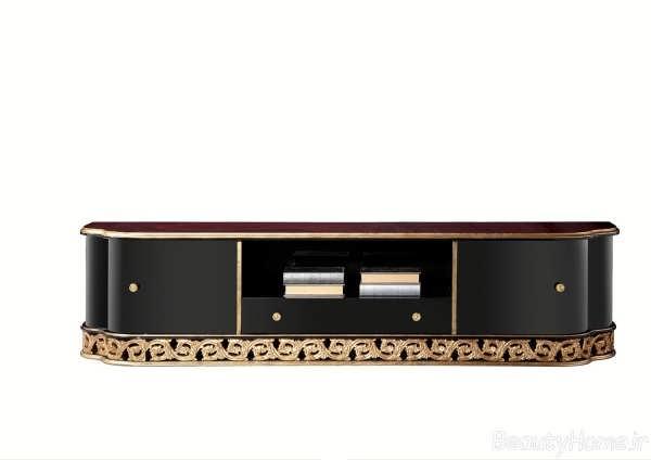 مدل میز تلویزیون سلطنتی با طرح های زیبا و متفاوت