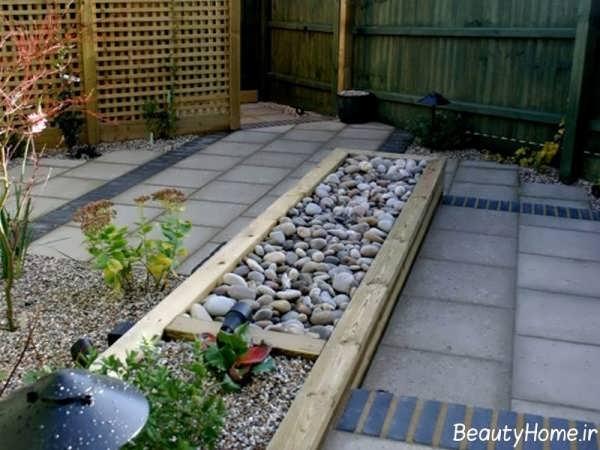 طراحی باغچه های کوچک حیاط