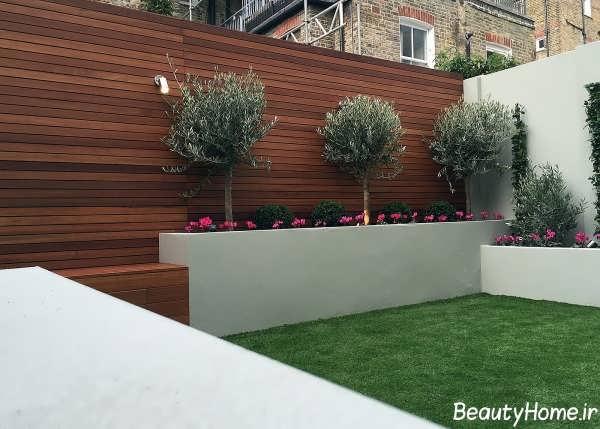 طراحی باغچه مدرن و زیبا