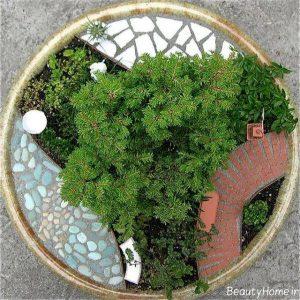 باغچه کوچک با طراحی ایده آل
