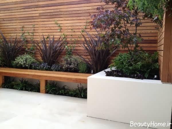 طراحی زیبا و شیک باغچهکوچک