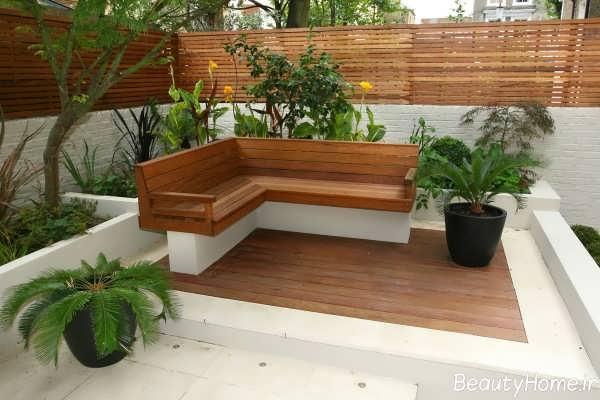 طراحی باغچه های کوچک با کمک ایده های مدرن