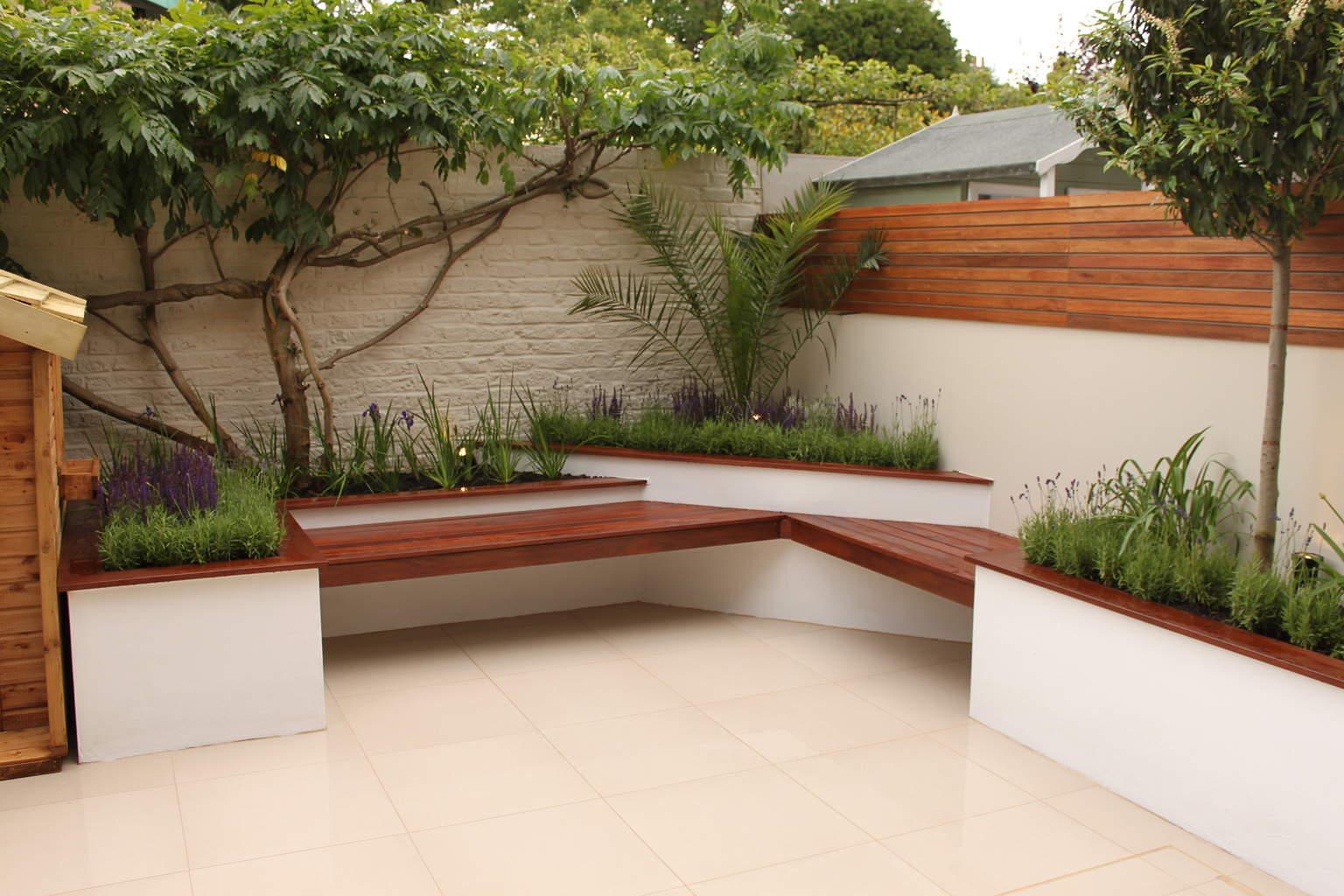 طراحی باغچه های کوچک با ایده های ارزان