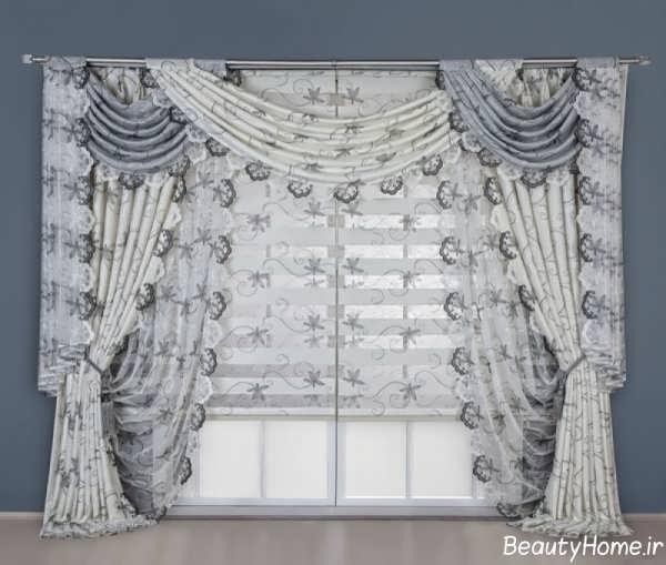 پرده اتاق نشیمن با طرح های متفاوت