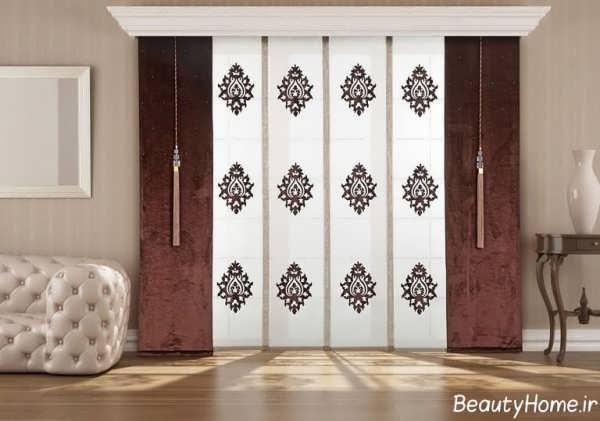 پرده اتاق نشیمن با جدیدترین طرح های مد سال