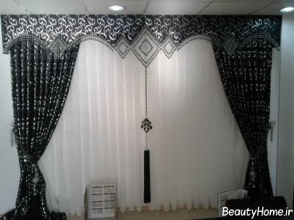 مدل پرده اتاق نشیمن با طرح های متفاوت و زیبا