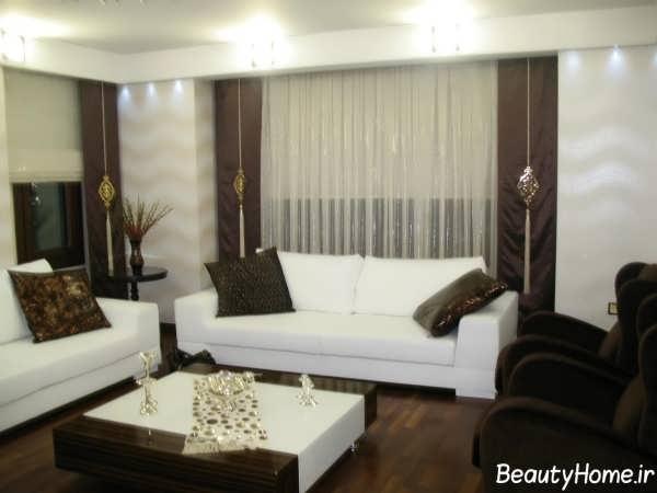 مدل های زیبا و شیک پرده اتاق نشیمن با طرح های متفاوت