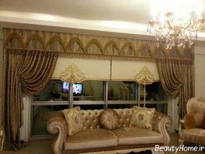 پرده اتاق نشیمن مدرن و زیبا
