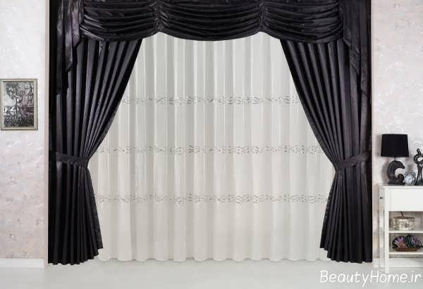 مدل پرده اتاق نشیمن با طرح های جذاب و شیک