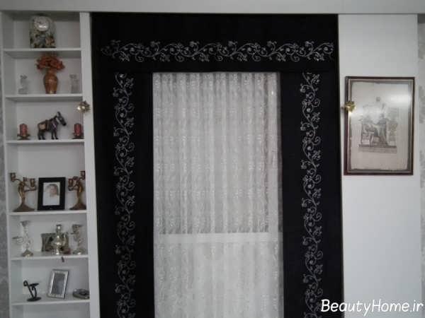 پرده اتاق نشیمن با طرح های زیبا