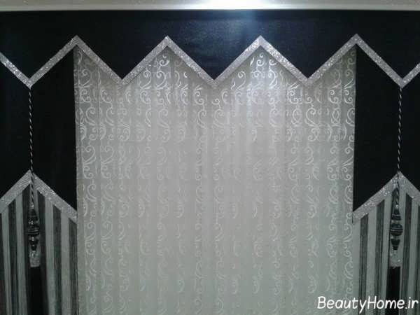 پرده اتاق نشیمن با طرح های شیک و زیبا