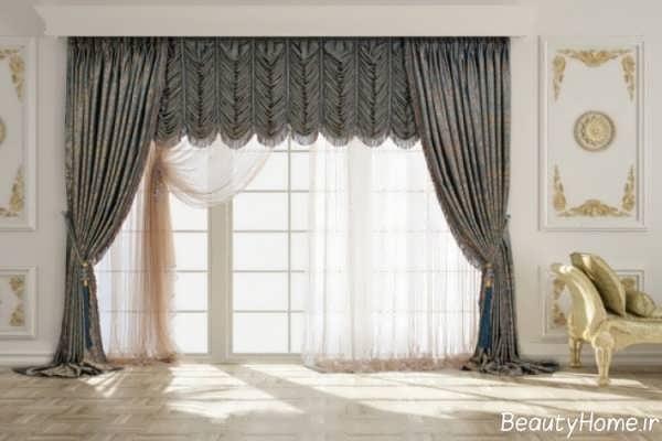 طرح های زیبا پرده اتاق نشیمن