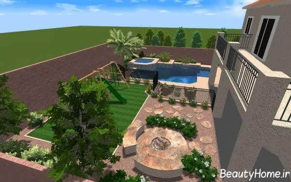 طراحی حیاط خلوت با کمک روش های مدرن