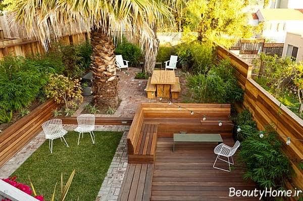 طراحی زیبا و متفاوت حیاط خلوت های لوکس