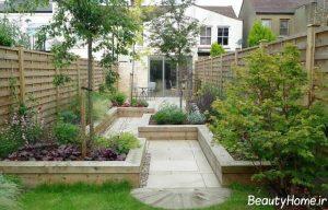 طراحی ایده آل و کاربردی حیاط خلوت