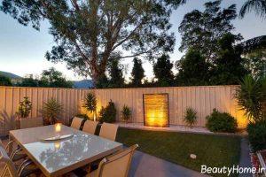 طراحی حیاط خلوت با کمک روش های جدید و زیبا