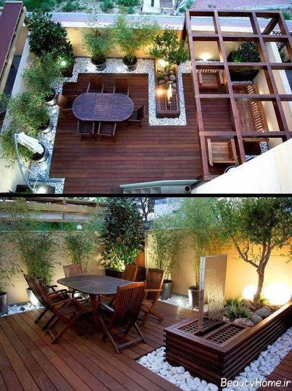 طراحی حیاط خلوت با کمک ایده ها و روش های خلاقانه