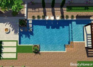 طراحی کاربردی حیاط خلوت