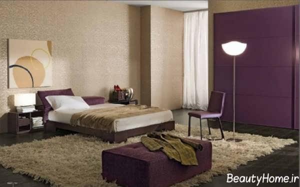 طراحی اتاق خواب مدرن و جذاب