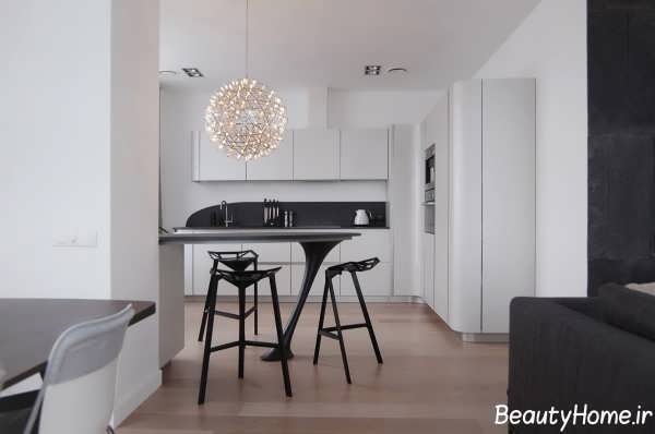 دکوراسیون زیبا و متفاوت آشپزخانه