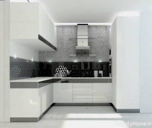 دکوراسیون آشپزخانه با طراحی مدرن و متفاوت
