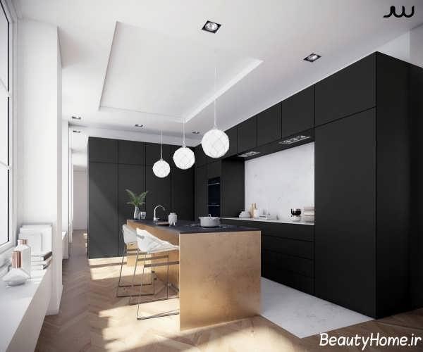 دکوراسیون آشپزخانه با طراحی زیبا و مدرن