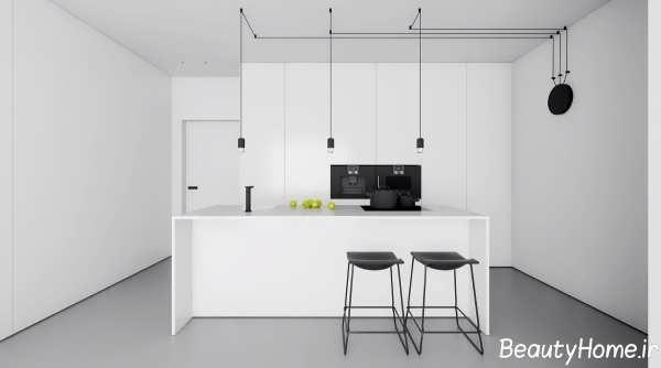 دکوراسیون زیبا و متفاوت آشپزخانه مدرن
