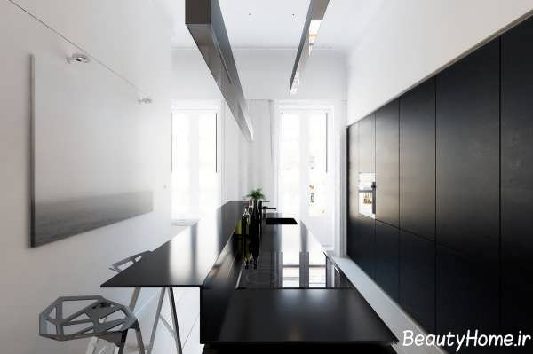 دکوراسیون داخلی آشپزخانه مدرن و زیبا