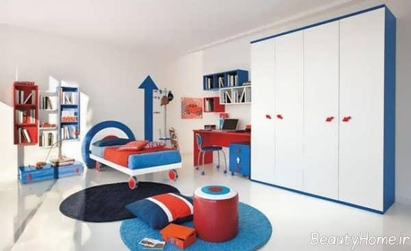 طراحی اتاق خواب کودک پسر