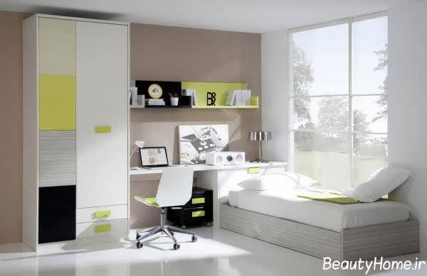 طراحی دکوراسیون زیبا و شیک اتاق خواب