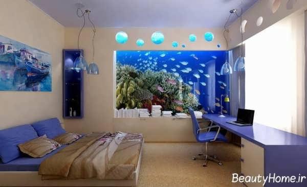 طراحی زیبا و کاربردی اتاق خواب با روش های مختلف