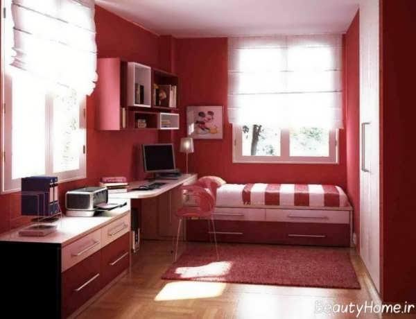 طراحی اتاق خواب پسرانه با کمک روش های مختلف