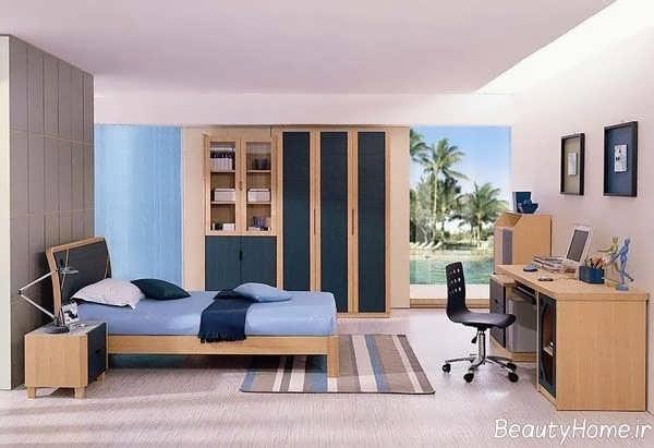 طراحی اتاق خواب پسرانه با کمک روش های مدرن