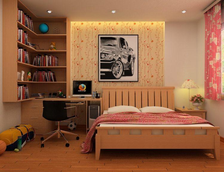 طراحی اتاق خواب پسرانه با کمک ایده های مدرن و جدید