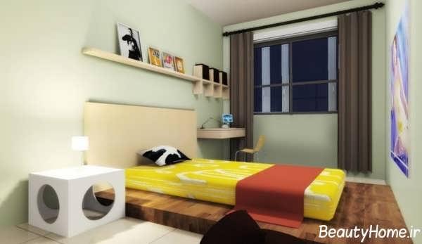 طراحی زیبا و متفاوت اتاق خواب پسرانه