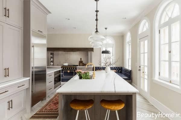 تبدیل آشپزخانه های قدیمی به آشپزخانه مدرن با کمک 10 ایده مختلف