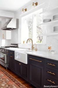 10 ایده مدرن برای تبدیل آشپزخانه قدیمی به آشپزخانه مدرن
