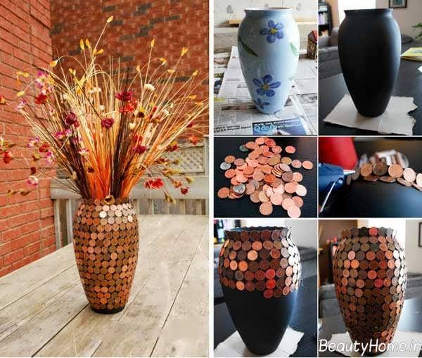 ساخت گلدان های تزیینی