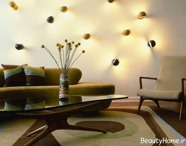 خلاقیت در طراحی دکوراسیون اتاق پذیرایی