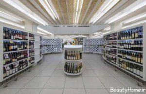 دکوراسیون داخلی فروشگاه مواد غذایی